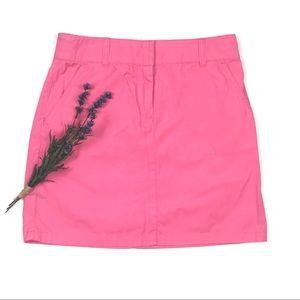 J.Crew Pink Mini Skirt Sz 2